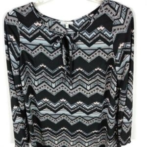 Charlotte Russe Womens Tunic Top Blouse Size M